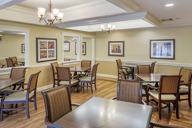 Brookdale Farmington Hills North Dining Room
