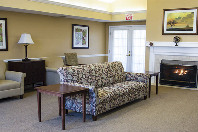 Brookdale Fayetteville Community Living Room