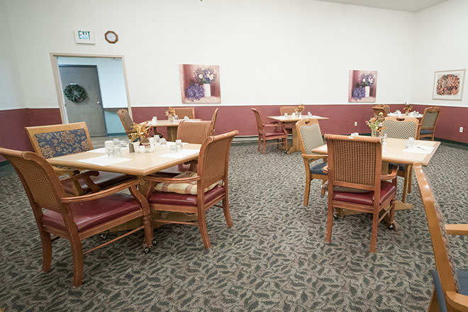 Brookdale Federal Way Dining Room