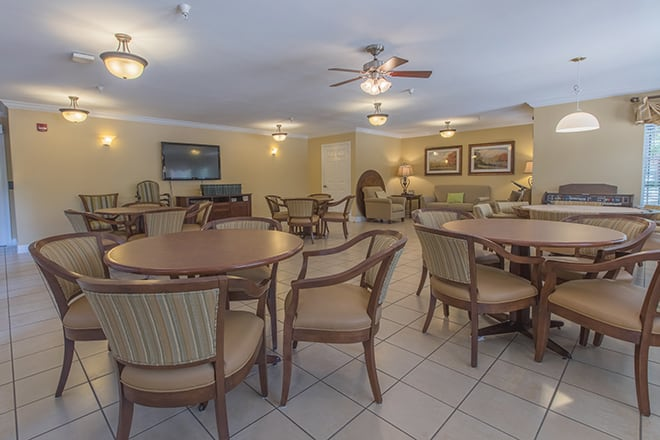 Brookdale First Colony Game Room