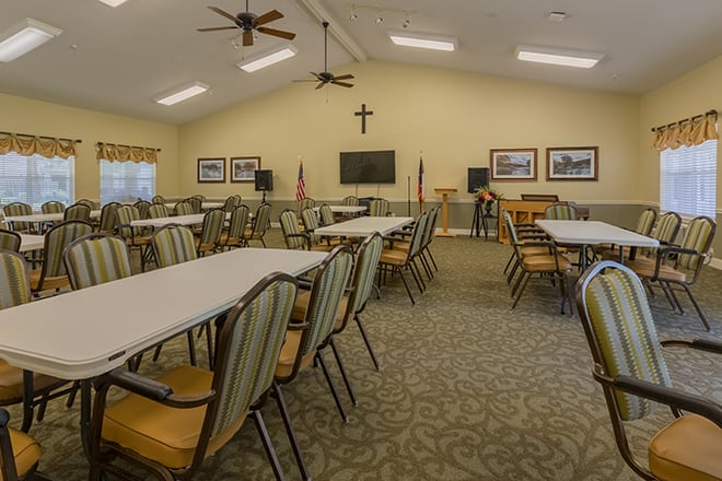 Brookdale First Colony Common Room