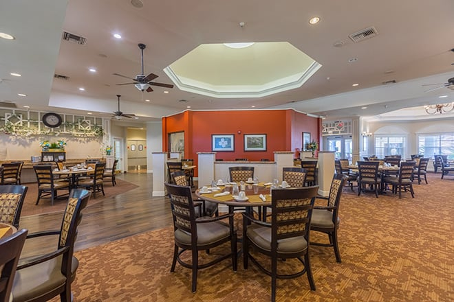Brookdale First Colony Dining Room