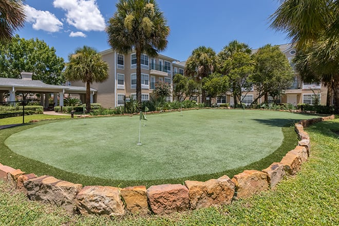Brookdale First Colony Putting Green