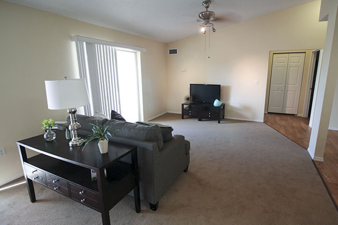 Brookdale Fort Myers Cypress Lake Apartment Living Area