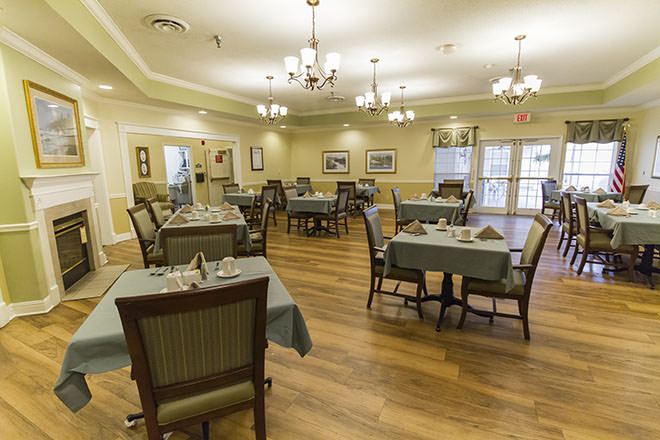 Brookdale Fort Walton Beach Dining Room
