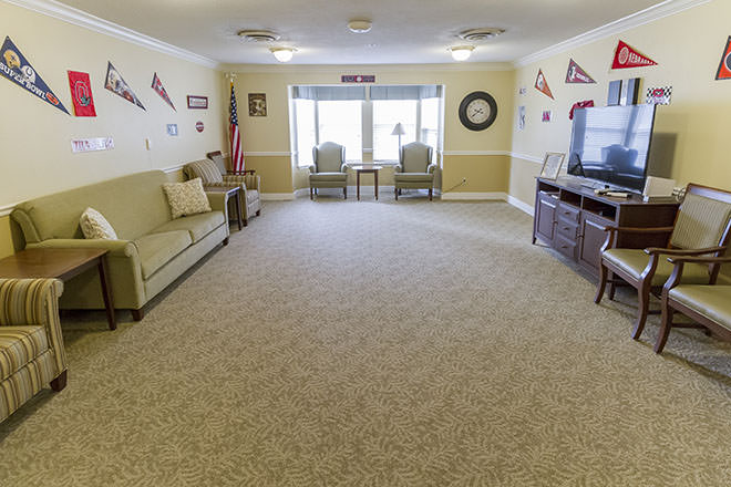 Brookdale Fort Walton Beach TV Room