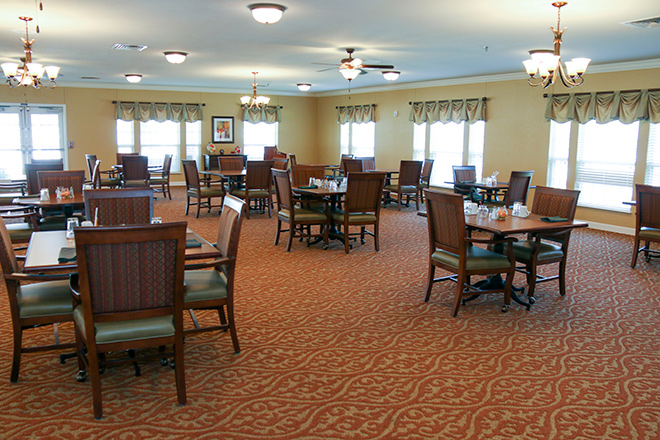 Brookdale Fort Wayne Dining Room