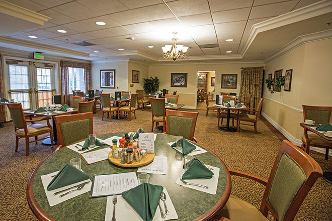 Brookdale Fountaingrove  Dining Room