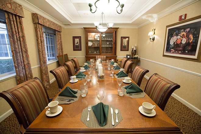 Brookdale Fountaingrove  Private Dining Room