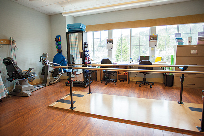 Brookdale Fountaingrove Skilled Nursing Therapy Room