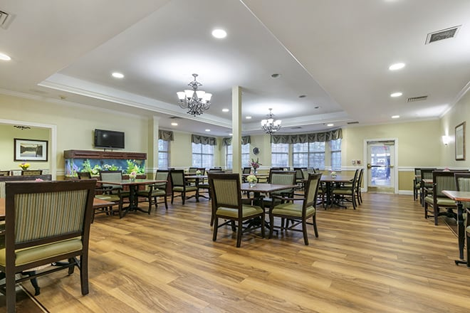 Brookdale Germantown Dining Room