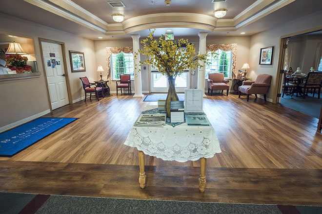 Brookdale Gig Harbor Foyer