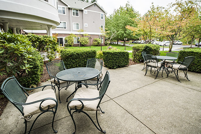 Brookdale Gig Harbor Patio