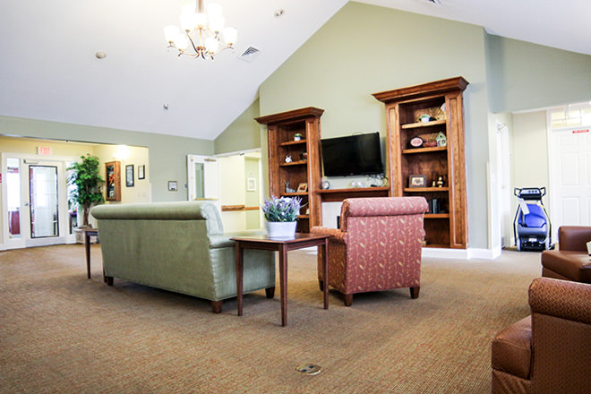 Brookdale Goodlettsville Community Living Room