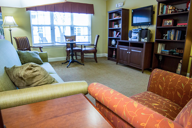 Brookdale Goodlettsville TV Room