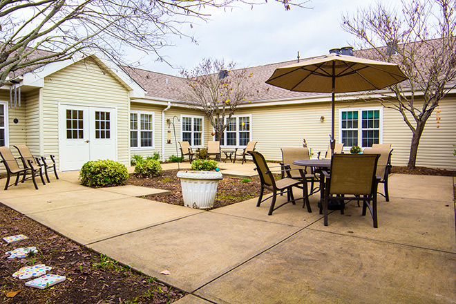 Brookdale Goodlettsville Patio
