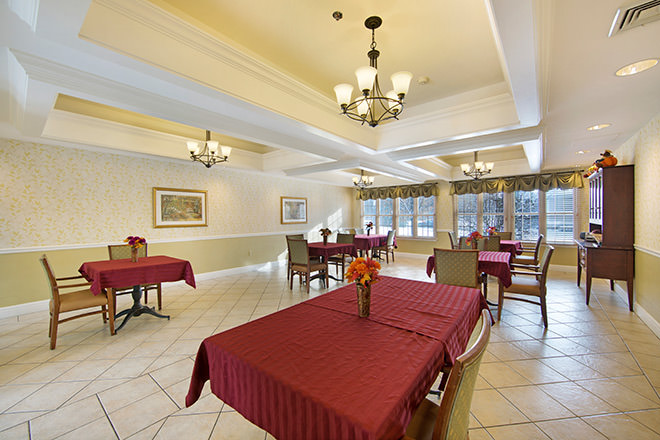 Brookdale Grand Blanc Dining Room