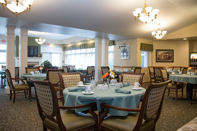Brookdale Granger Dining Room