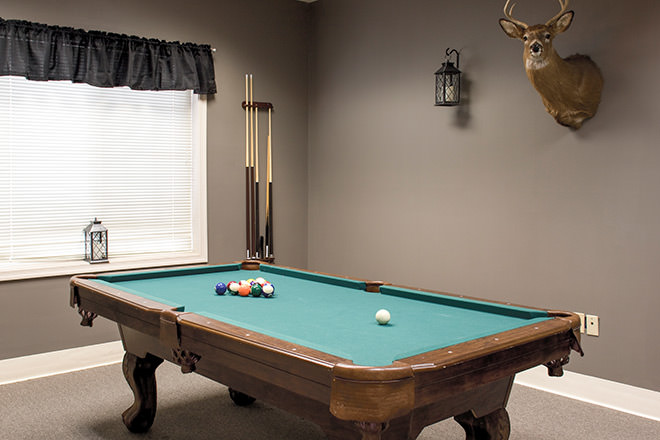 Brookdale Grayson View Billiards