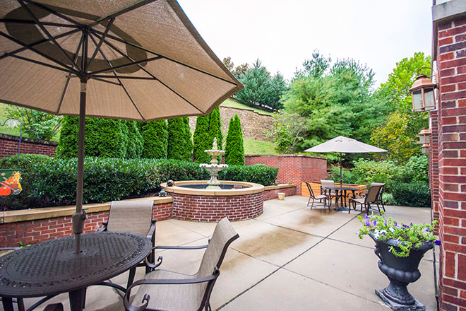 Brookdale Green Hills Cumberland Patio