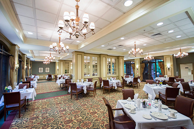 Brookdale Green Hills Cumberland Dining Room
