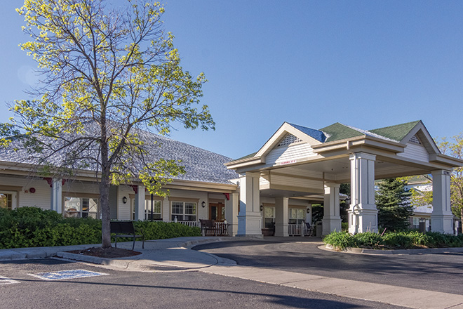 Brookdale Green Mountain Skilled Nursing Entrance