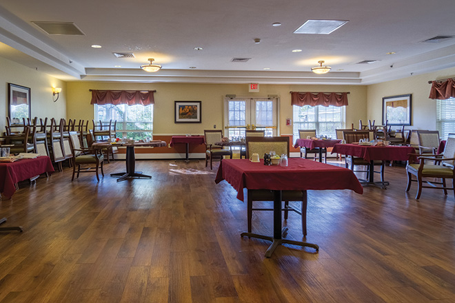 Brookdale Green Mountain Skilled Nursing Dining Room