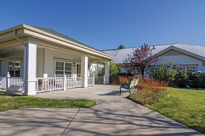 Brookdale Green Mountain Skilled Nursing Patio