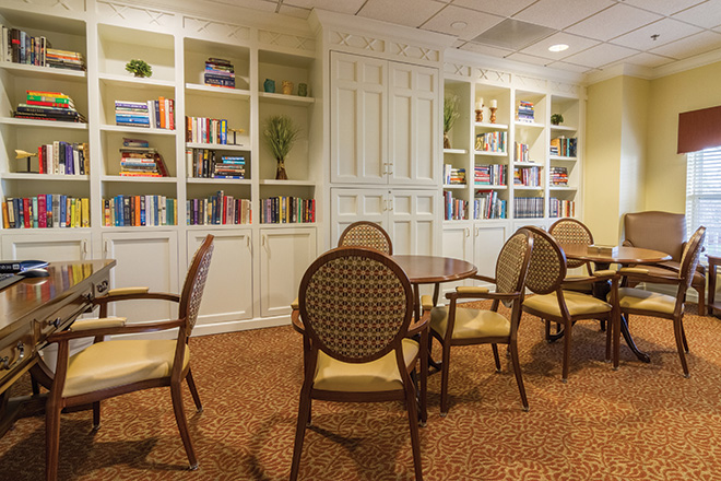 Brookdale Green Mountain Skilled Nursing Library