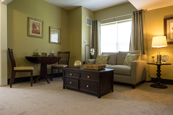 Brookdale Greenville Living Room