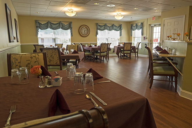 Brookdale Greenville Memory Care Dining Room