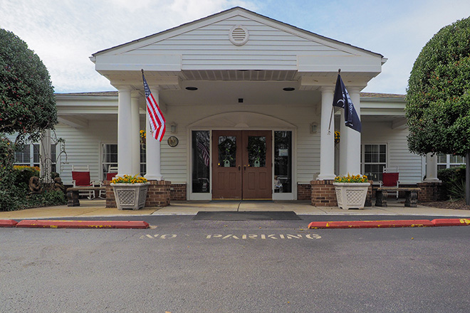 Brookdale Greenville Skilled Nursing Entrance