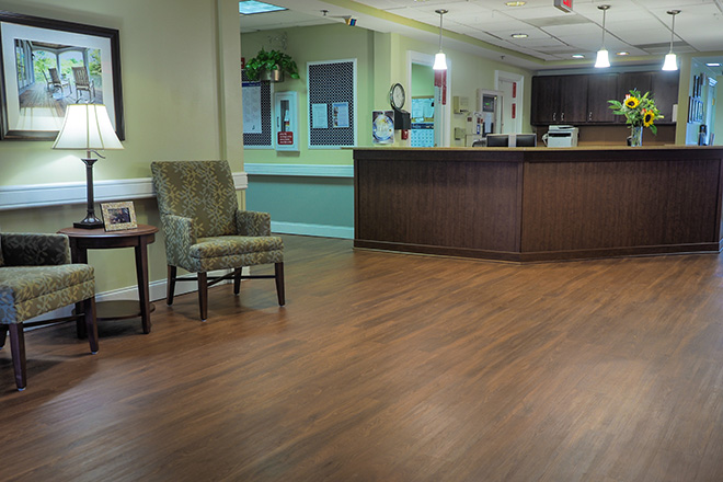 Brookdale Greenville Skilled Nursing Foyer
