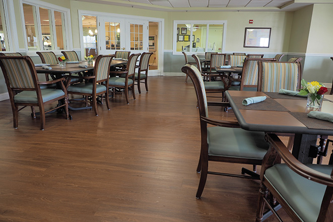 Brookdale Greenville Skilled Nursing Dining Room