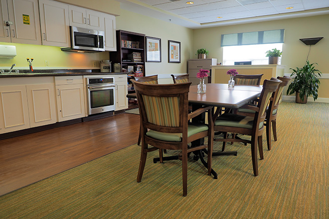 Brookdale Greenville Skilled Nursing Activity Room