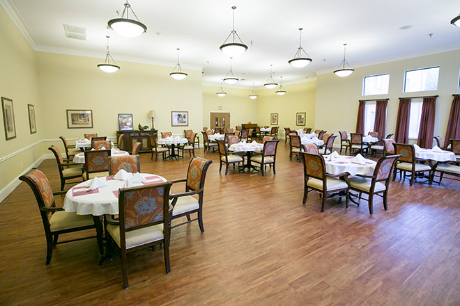 Brookdale Guadalupe River Plaza Dining Room