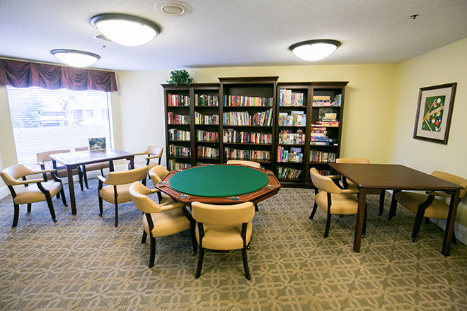 Brookdale Guadalupe River Plaza Activity Room