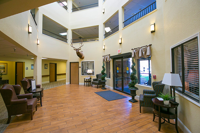 Brookdale Guadalupe River Plaza Skilled Nursing Foyer