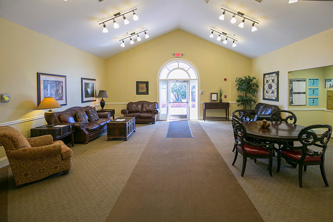 Brookdale Guadalupe River Plaza Skilled Nursing Common Area
