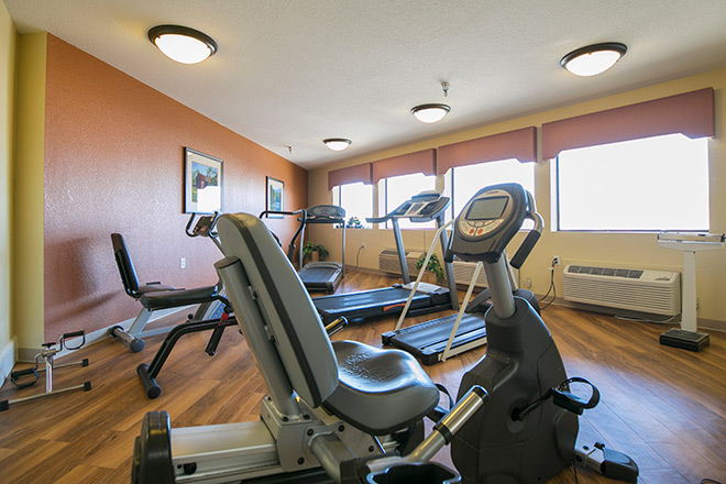 Brookdale Guadalupe River Plaza Skilled Nursing Fitness Room