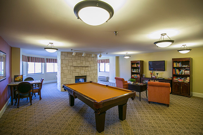 Brookdale Guadalupe River Plaza Skilled Nursing Activity Room