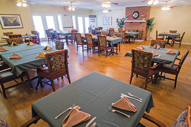 Brookdale Hanceville Dining Room