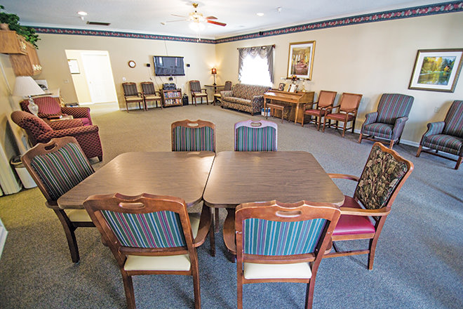 Brookdale Hanceville Entertainment Room