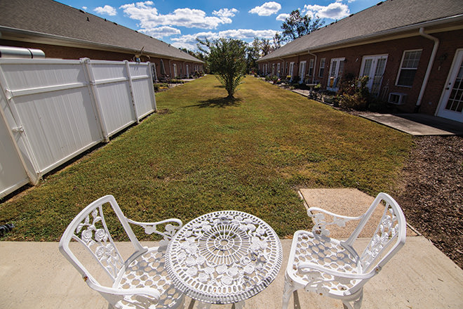 Brookdale Hanceville Patio