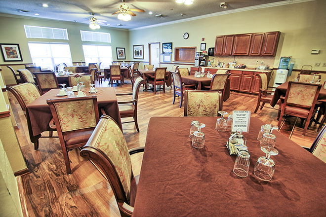 Brookdale Harbison Dining Room