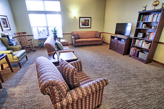 Brookdale Harbison TV Room