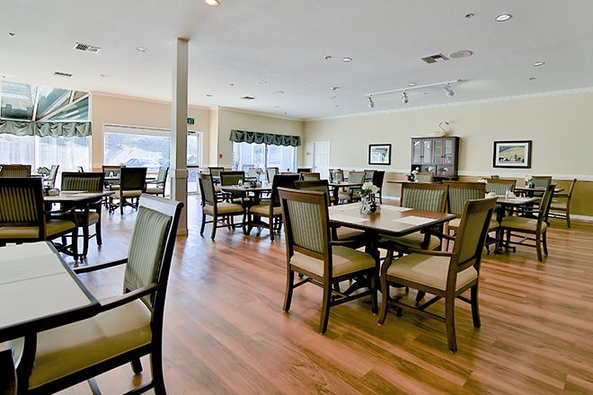 Brookdale Hearthstone Moses Lake Dining Room