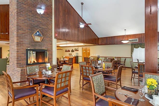 Brookdale Heritage Plaza Dining Room