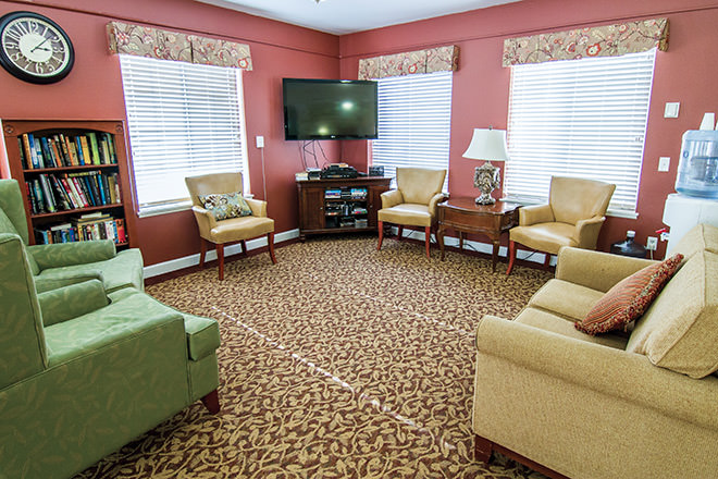 Community Name Community Living Room
