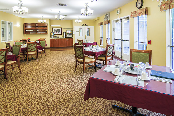 Community Name Dining Room